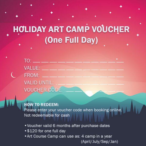 Voucher - School Holiday Art Camp